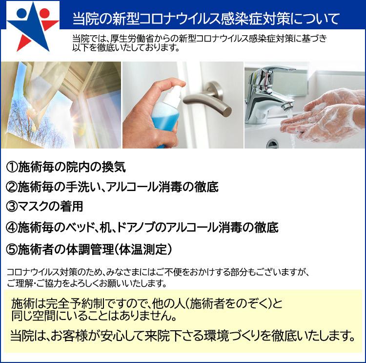 当院の新型コロナウィルス感染症対策について